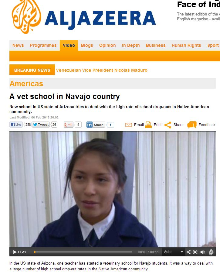 Navajo Vet School