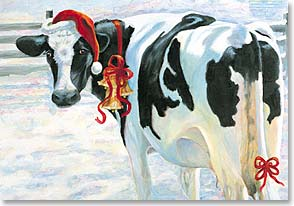 Cow Christmas Ibex Ultrasound