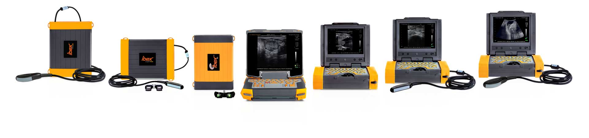 EIMI's veterinary ultrasound lineup